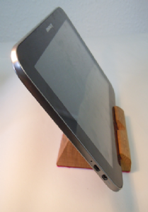 iPad mini, tablet or smartphone stand - BLUE lined